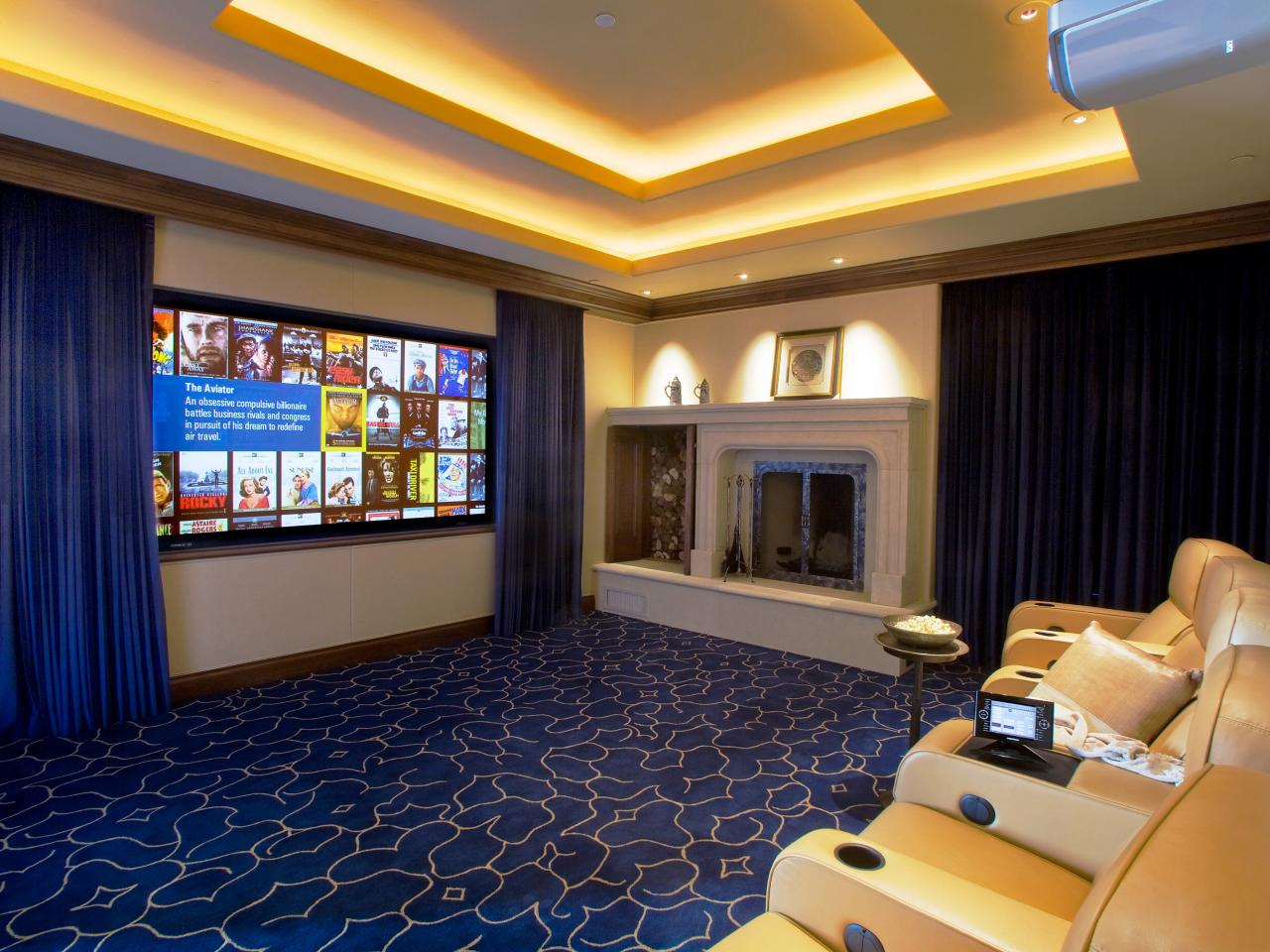 Designing A Home Theater? Donu0027t Forget The Window Blinds